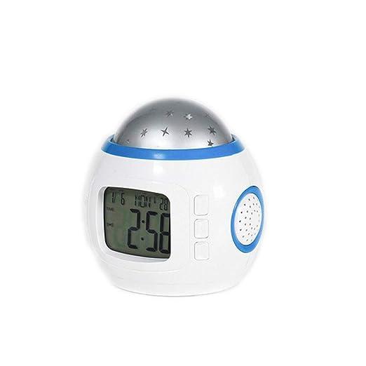 Reloj despertador, sueño del bebé Reloj despertador/Luz nocturna + ...