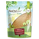 Fenugreek Seeds by Food to Live (Methi, Kosher) - 8 Ounces