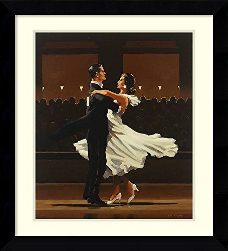 (Framed Wall Art Print | Home Wall Decor Art Prints | Take This Waltz by Jack Vettriano | Modern Contemporary Decor)