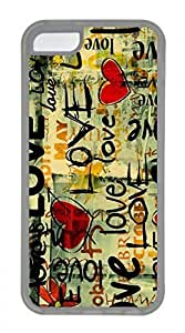 iPhone 5c case, Cute Love 121 iPhone 5c Cover, iPhone 5c Cases, Soft Clear iPhone 5c Covers