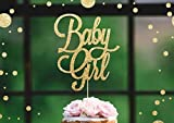 BABY GIRL Gold Glitter Cake Topper Baby Shower New Party Boy Oh Baby Ready To PopGirl Welcome Home