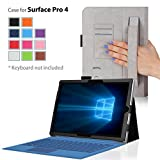 Surface Pro 4 Case - onWay Premium Folio Cover Case for Microsoft Surface Pro 4 (12.3