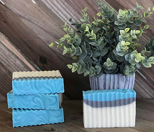 - Light Blue Handmade bath Soap