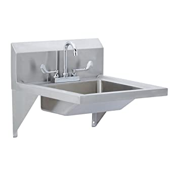 Fenix Sol Wall Mounted ADA Compliant Hand Sink with Deck ...