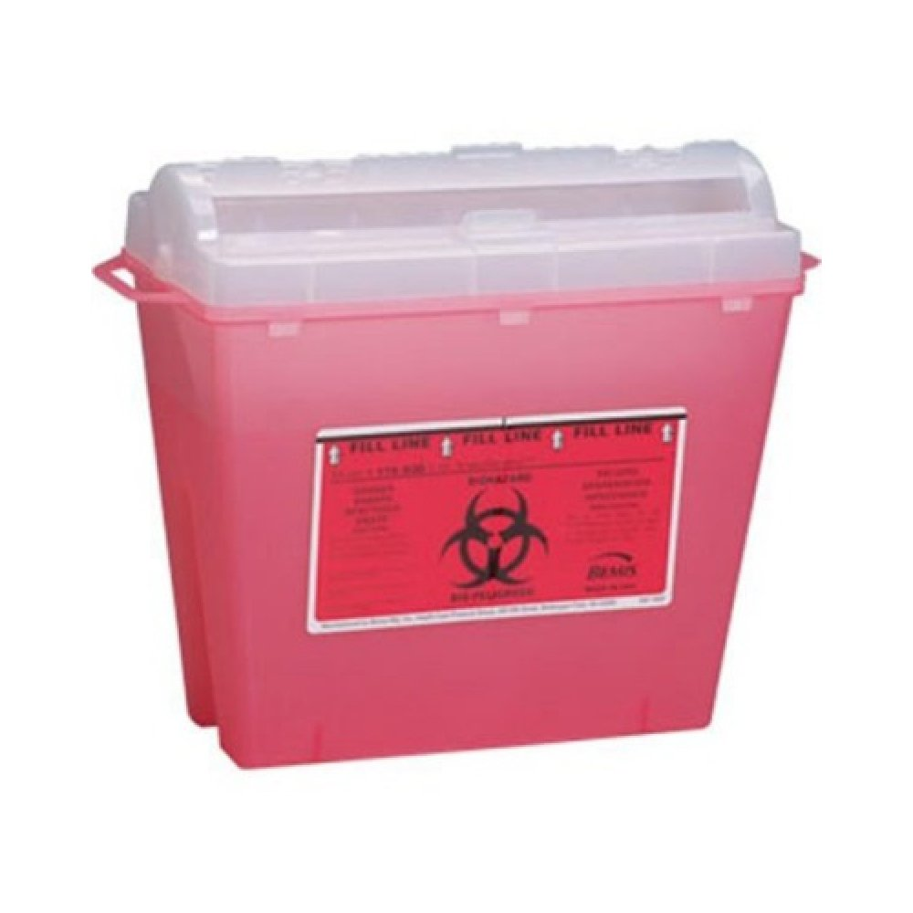 Bemis Healthcare 150 030 Bemis Healthcare Quality Medical Products Needle Disposal Products- 5 Quart Reg Size Wall Safe - Product Number : #150 030