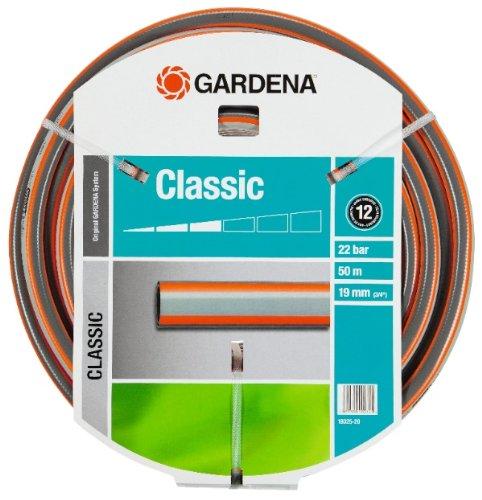 Gardena 18025-20 Classic Tuyau Gris/Orange Plastique 30 x 30 x 30 cm