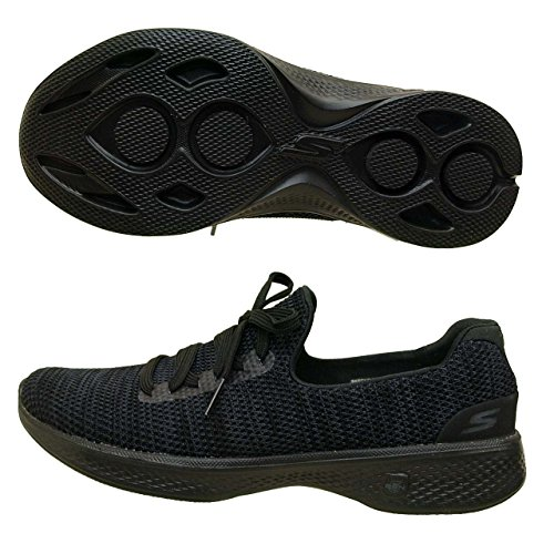 Skechers Dames Sneaker 14919 Aller À Pied 4 Enjoyer Noir / Gris / Bkgy