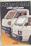 1982 Mitsubishi L300 and Canter Truck Brochure German
