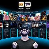 VR Headset with Controller Adjustable 3D VR Glasses
