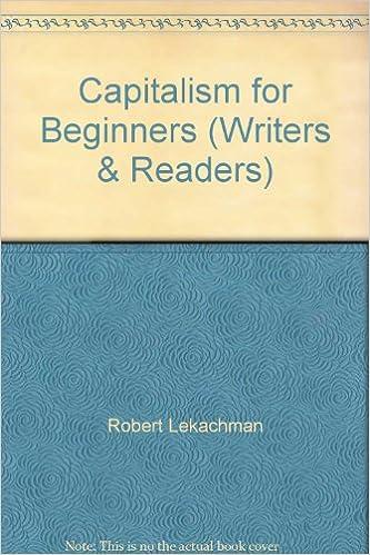 Book Capitalism for Beginners (Writers & Readers)