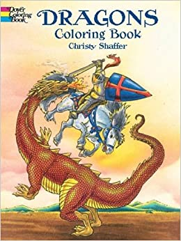 Dragons Coloring Book Dover Coloring Books Amazoncouk