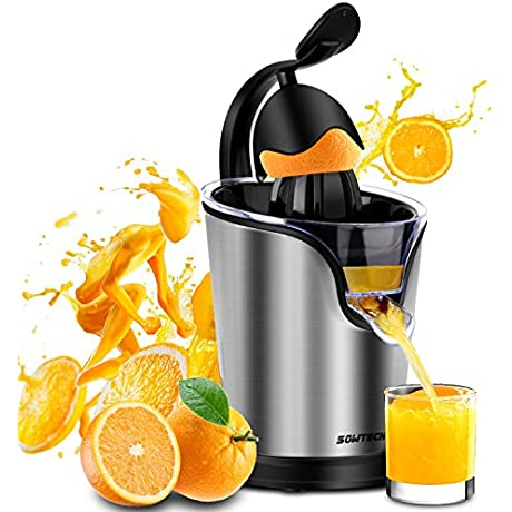 Electric Citrus Juicer Sowtech Stainless Steel Squeezer Anti Drip Citrus Press For Squeeze Fresh Orange Lemon And Lime