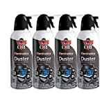 Dust-Off Compressed Gas Duster, Pack of 4 (DPSXL4)