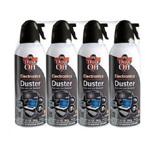 dust off compressed gas duster pack of 4 dpsxl4. Black Bedroom Furniture Sets. Home Design Ideas