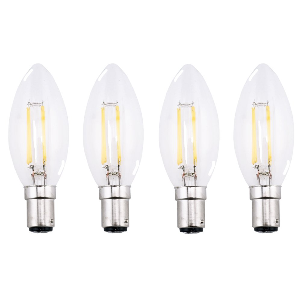 warm ref candelabra pack led white dp amazon cerb bulbs filament base com bulb light luminwiz chandelier equivalent