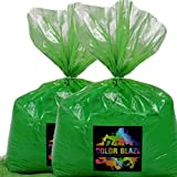 Color Powder Green 50lbs - (Two 25lb bags) Ideal for color run events, youth group color wars, Holi events and more! Purple, Blue, Red, Yellow, Orange, Pink and Teal Available