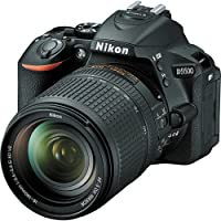 Nikon D5500 Digital SLR DX-format Camera with 18-140mm Lens (Black) - International Version (No Warranty)