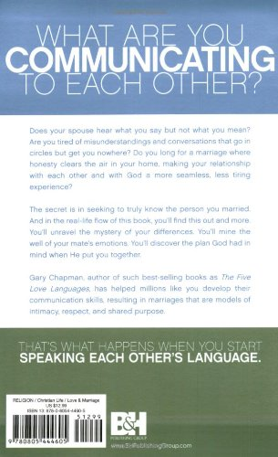 Now You're Speaking My Language: Honest Communication and Deeper Intimacy for a Stronger Marriage by B & H Pub Group