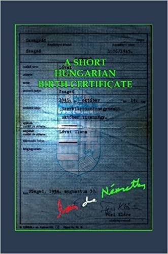 Buy A Short Hungarian Birth Certificate Book Online at Low
