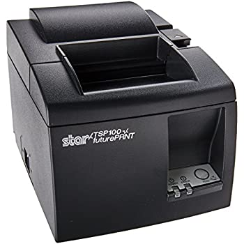 Amazon com: Star TSP100 TSP143U , USB, Receipt Printer - Not