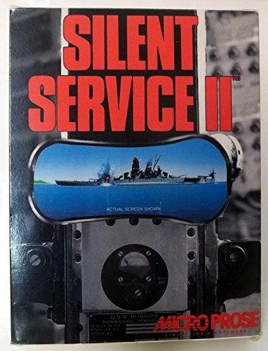 Silent Service II IBM PC Version 1993 big box Micro Prose 3.5