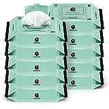 Enblanc Mint Eco-friendly fragrance free wet tissue 10 packs/720 sheets