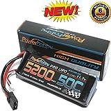 PowerHobby 3S 11.1V 5200mAh 50C Lipo Battery Pack w/ Traxxas Plug Fits Slash 4x4 4WD 2WD Stampede Rustler E-Revo E-Maxx Spartan M41 X-Maxx