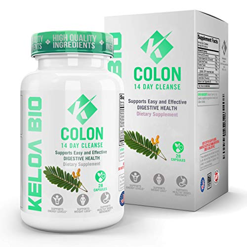 (Premium Colon Cleanse Detox 14-Day Quick Start Program-Remove Toxins All Natural & Healthy Ingredients Advanced & Safe Formula Perfect for Men & Women 28 Capsules)