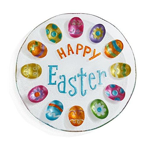 Demdaco 2020150833 Deviled Eggs Server Platter, Multicolor