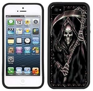 Grim Reaper Goth Handmade iPhone 5C Black Case