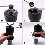 Manual Coffee Grinder with Ceramic Burrs, LHS