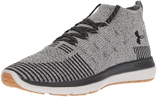 Under Armour Men's Slingflex Rise Sneaker, Tin (108)/Black, 8