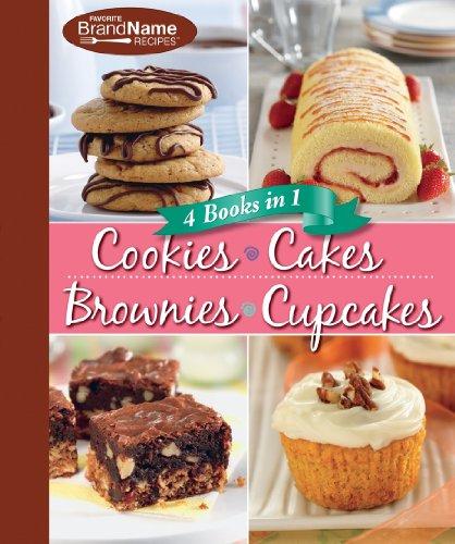 4 Cookbooks in 1: Cookies, Cakes, Brownies, Cupcakes (Best Brownie In A Cup Recipe)