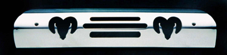 Dodge Ram Logo All Sales 43000P Polished Billet Aluminum Third Brake Light Cover