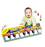 Eyourhappy Baby's Touch Play Keyboard Musical Singing Gym Carpet Mat Baby Gift
