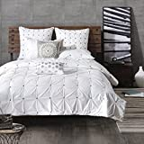 Masie 3 Piece Comforter Mini Set King/Cal King/White