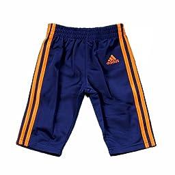 Adidas Boy\'s Impact Track Pant & Jacket 2-Piece Set (5, Dark Indigo)