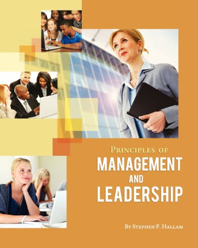 Principles of Management and Leadership