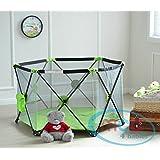 MCC Pop Up Playpen Portable Baby Play Yard Green