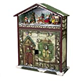 Kurt S. Adler Battery Operated  Musical 24 Days of Christmas Advent Calendar