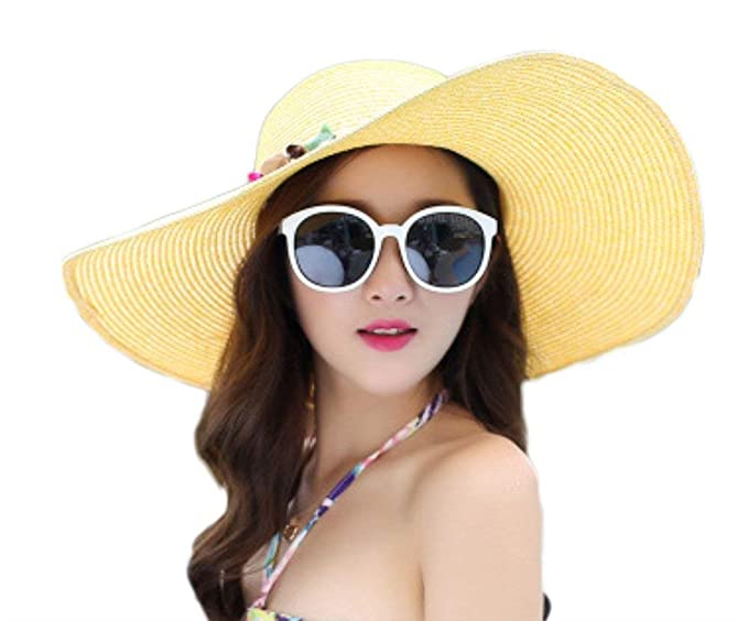 Sombrero De Paja Visera para Sombrero para El Sol Gorra Clásico Adulto  Sombrero De Verano Sombrero 3c846f2efea