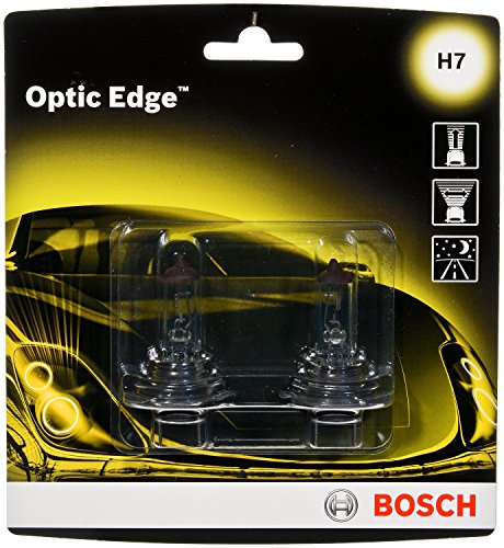 Bosch Optic Edge - Cápsula halógena, H7, 2 Pack
