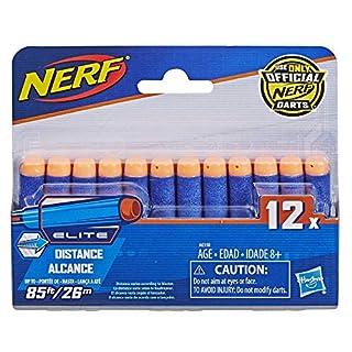 Official Nerf N-Strike Elite Series 12-Dart Refill Pack,Multicolor