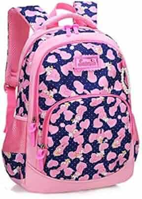 Color : Pink XFRJYKJ-Cartoon Backpack Baby Kindergarten Bag Children Cute Backpack
