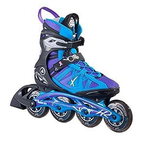 K2 Damen Inline Skate V02 90 Pro W, Mehrfarbig 7.5, GR.EU 38, 30A0108.1.1.075