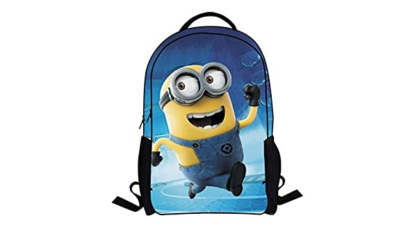 Amazon.com : New Fashion Despicable Me 2 Kids Cartoon bags child Backpack boy Minions schoolbag mochila children quality school bag Kind Geschenk Spielzeug ...