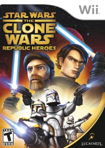 Star Wars the Clone Wars: Republic Heroes - Nintendo Wii