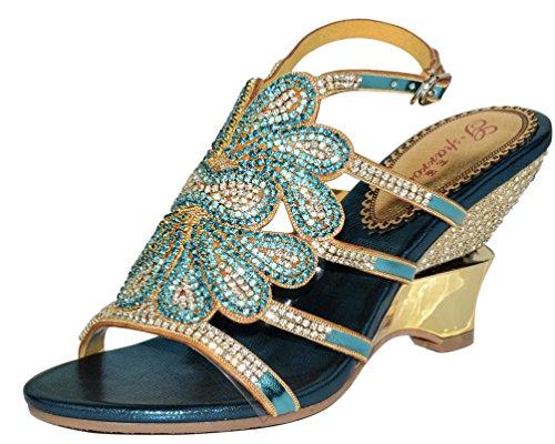 Salabobo Arriere Bleu Femme Bride Salabobo Bride P5gqwSx5v