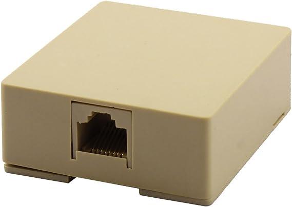 Sourcingmap® RRJ45 Cable de Red Ethernet Cat5 8P8C Cable Montaje ...