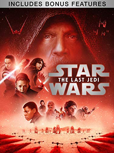 Star Wars: The Last Jedi (With Bonus Content) (Star Wars A New Hope Original Version)